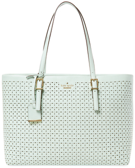 Kate Spade Milton Lane Shawn Perforated Leather Tote