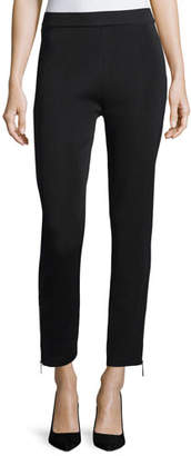 Misook Knit Ankle-Zip Leggings, Plus Size