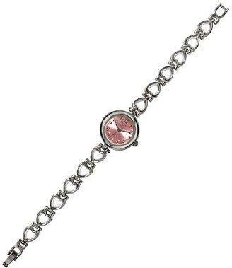 アクセサリー時計 ブレスレットウォッチ ハート レディース腕時計 ピンク