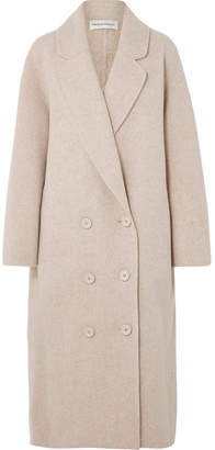 Mansur Gavriel Oversized Wool-blend Coat - Beige