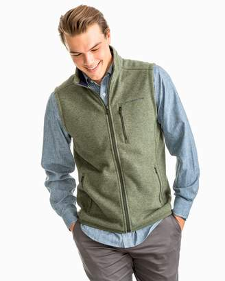 Southern Tide Samson Peak Sweater Fleece Vest