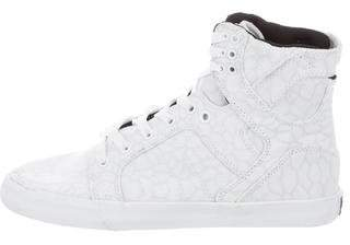 Supra Canvas High-Top Sneakers