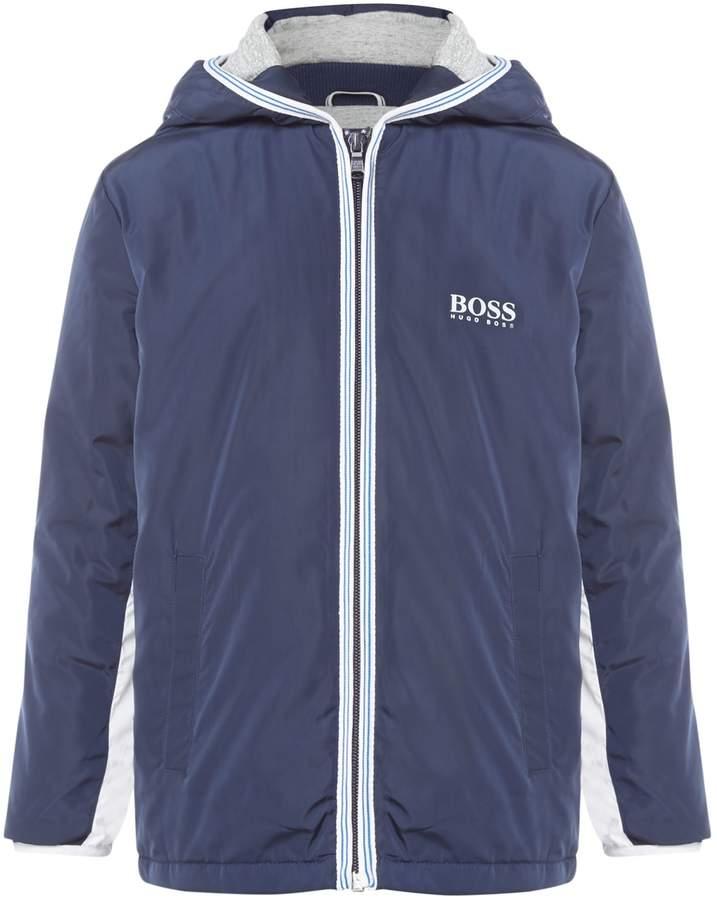 Boys Coated Windbreaker Jacket