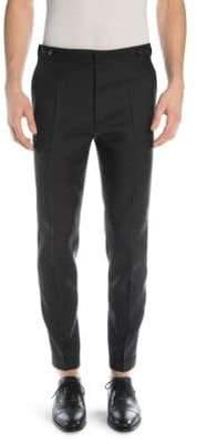 DSQUARED2 London Wool Silk Trousers