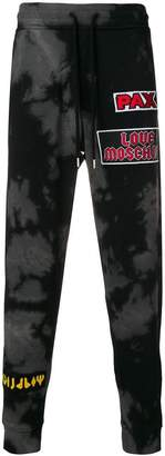 Love Moschino patch relaxed trousers