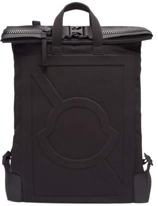 Craig Green 5 Moncler Logo Embossed Technical Backpack - Mens - Black
