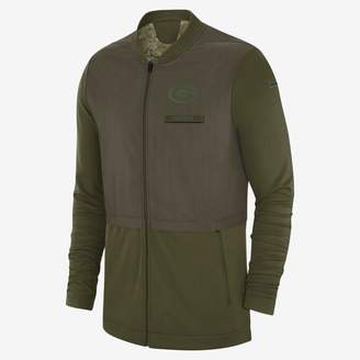 Nike Elite Hybrid Salute to Service (NFL Packers) Men's Full-Zip Jacket