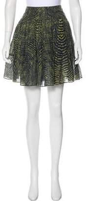 Yigal Azrouel Cut25 by Printed Mini Skirt