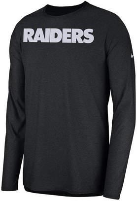 Nike Men Oakland Raiders Player Long Sleeve Top