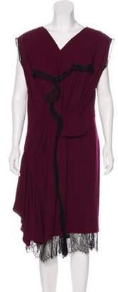 Roksanda Wool Midi Dress black Wool Midi Dress