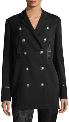 Versace Women's Military Double Breasted Jacket