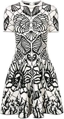 Alexander McQueen seashell motif knitted dress