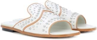 Tod's Embellished leather sandals