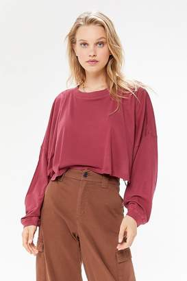 Out From Under Ella Long Sleeve Cropped Tee