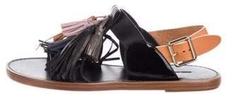 Isabel Marant Leather Tassel Sandals
