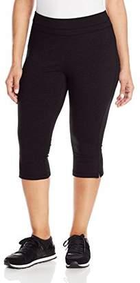 Spalding Women's Plus-Size Slim-Fit Crop Pant