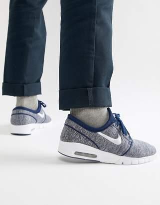 Nike Sb SB Air Max Janoski Sneakers In Blue 631303-405