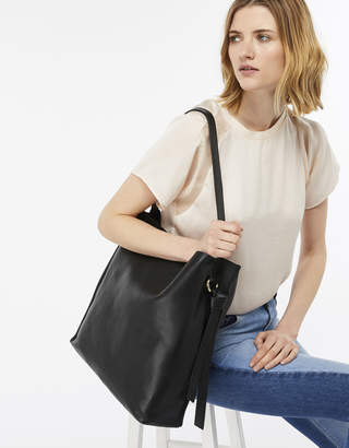 Accessorize Taylor Leather Hobo Bag