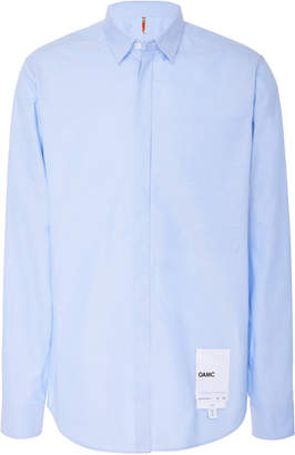 Oamc Cesar Cotton-Poplin Shirt