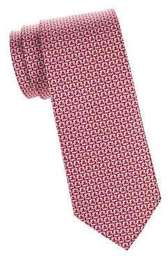 Salvatore Ferragamo Men's Interlocking Gancini Silk Tie