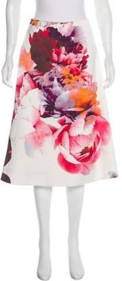 Keepsake Floral A-Line Skirt