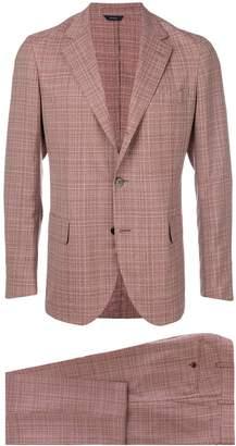 Tombolini plaid two-piece suit