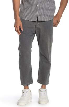 Diesel Rhial Cropped Straight Leg Jeans