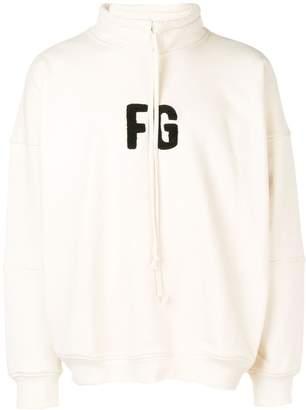 Fear Of God logo sweatshirt