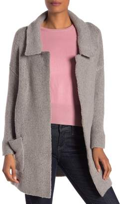 21 Main Notch Collar Sweater Coat