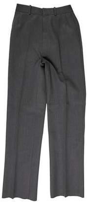 Thom Browne Flat Front Wool Pants
