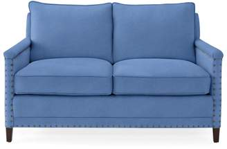 Serena & Lily Spruce Street Loveseat with Nailheads