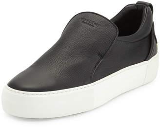 Buscemi 40mm Men's Leather Slip-On Sneakers