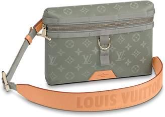 Louis Vuitton Messenger Monogram PM Titanium