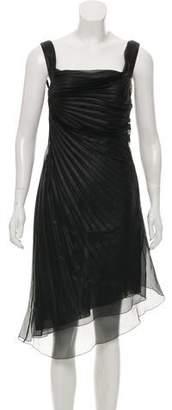 Valentino Pleated Silk Dress w/ Tags