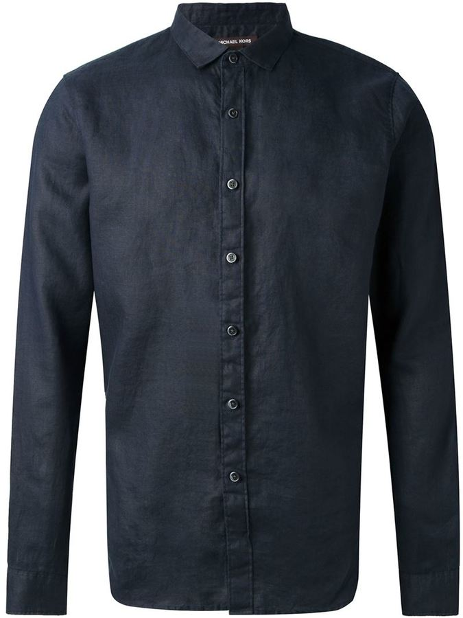Michael Kors fitted shirt