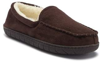 Dockers Microsuede Venetian Faux Fur Lined Slipper