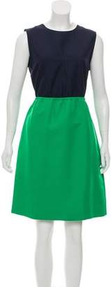 Marc by Marc Jacobs Two-Toned A-Line Dress
