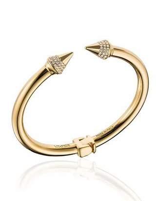 Vita Fede Mini Titan Crystal Cuff Bracelet $390 thestylecure.com