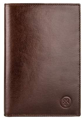 Maxwell Scott Bags Handcrafted Brown Leather Men S Breast Wallet