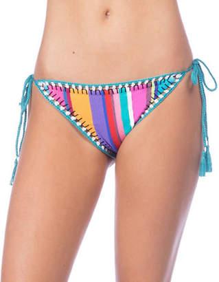 Nanette Lepore Vamp Striped Bikini Bottom