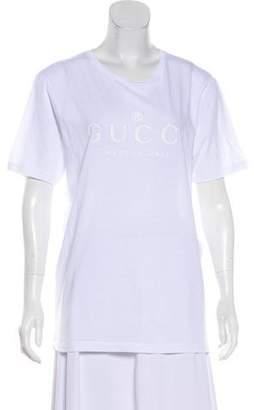 Gucci 2018 Logo Print T-Shirt w/ Tags