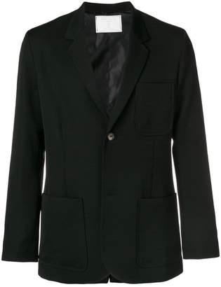 Societe Anonyme button down blazer