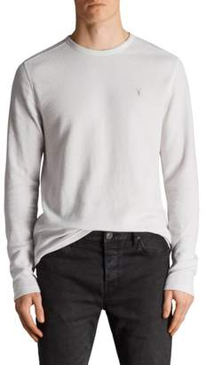AllSaints Clash Crewneck Thermal T-Shirt