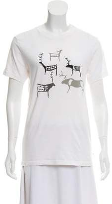 J. Lindeberg Graphic Short Sleeve Top
