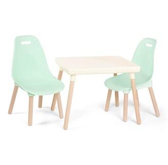B. Toys B. Kid Century Modern, Mint Table & Chair Set