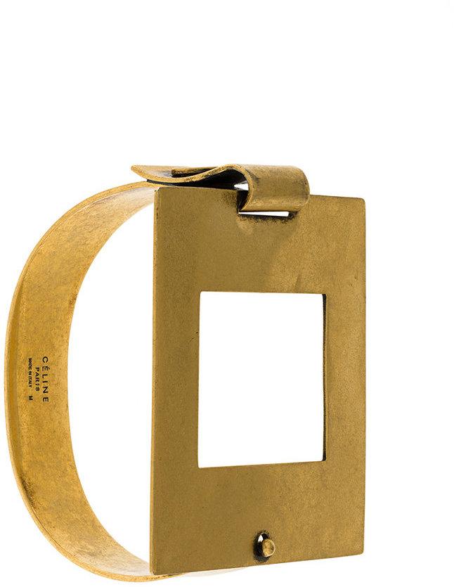 CelineCéline square bracelet