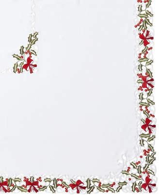 "Sferra Holly 72"" x 144"" Tablecloth & 12 Napkins"