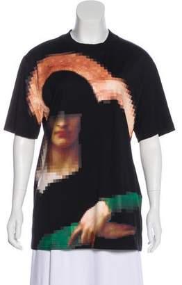 Givenchy Pixel Madonna Print T-Shirt w/ Tags