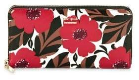 Kate Spade Cameron Street Poppy Field Lacey Continental Wallet