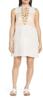 Tory Burch Embroidered Beach Cover-Up Dress